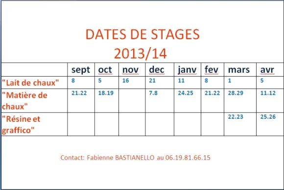 dates 2013.2014