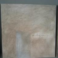 technique mixte chaux et acrylique sur toile